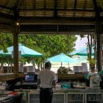 Inside coco beach bar